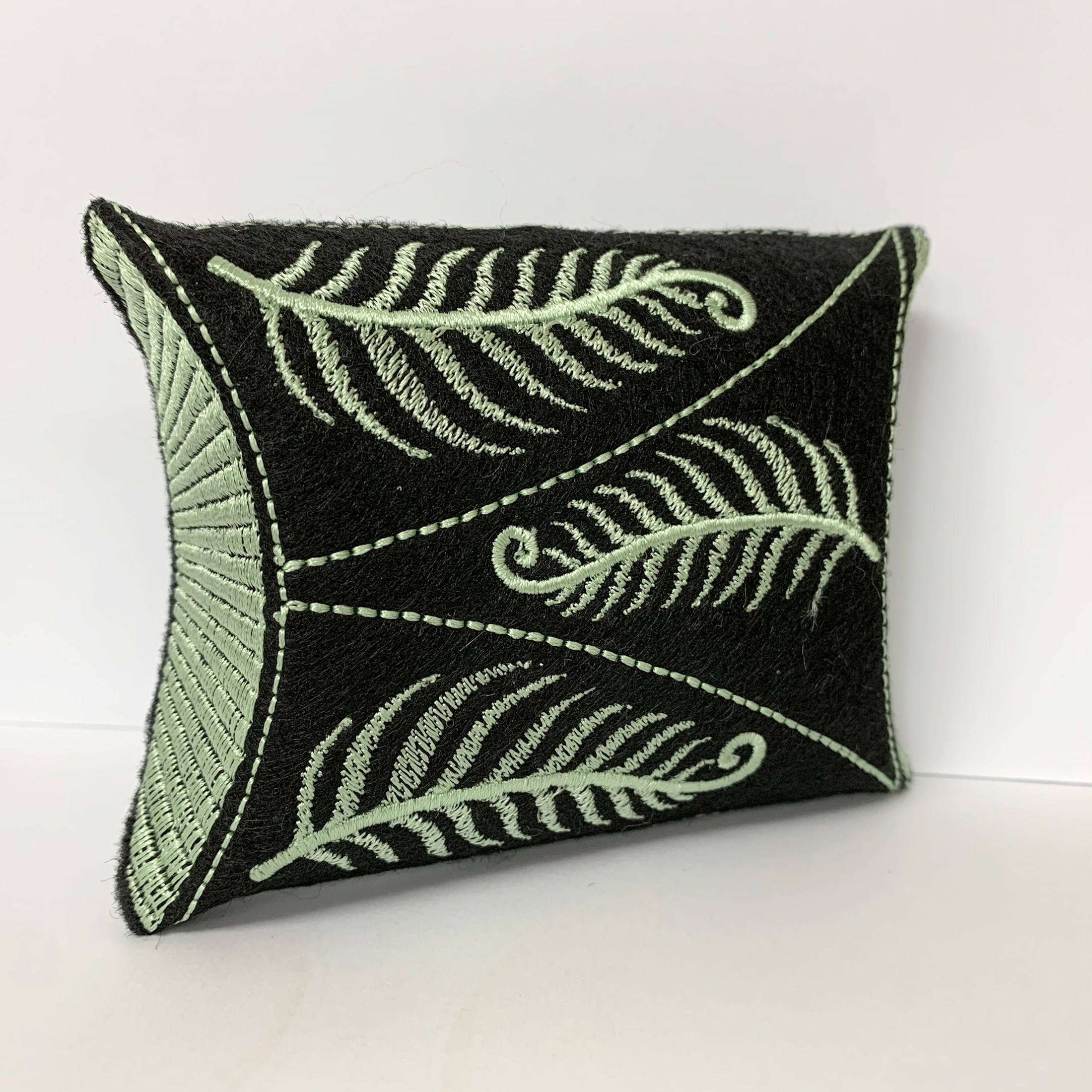 Embroidered Fern Gift Box
