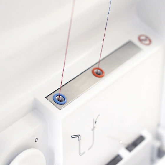The One-step BERNINA Air Threader