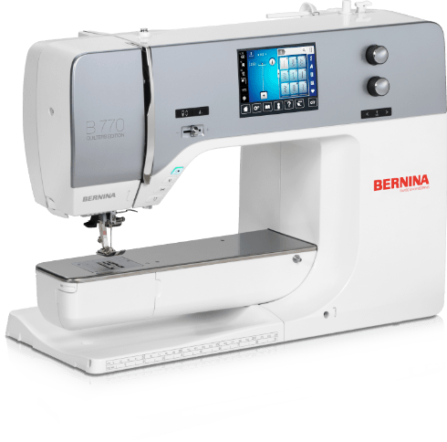 BERNINA 770 QE – the high-end sewing, embroidery and quilting