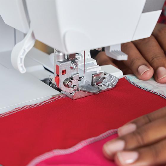 Sew in comfort