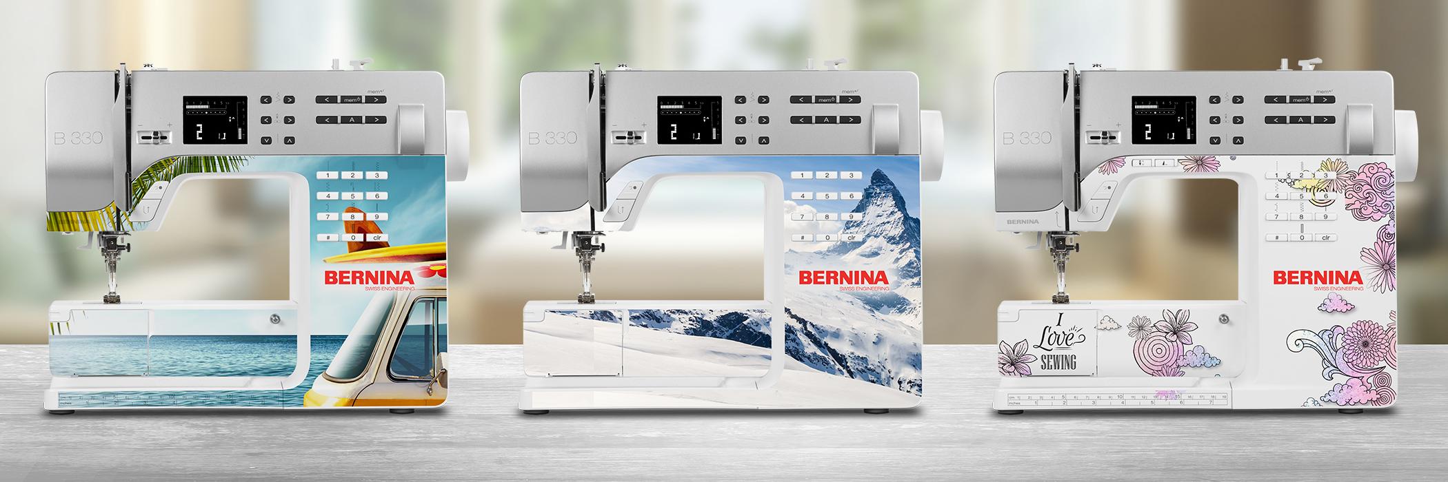 BERNINA 330 – das Einsteigermodell - BERNINA