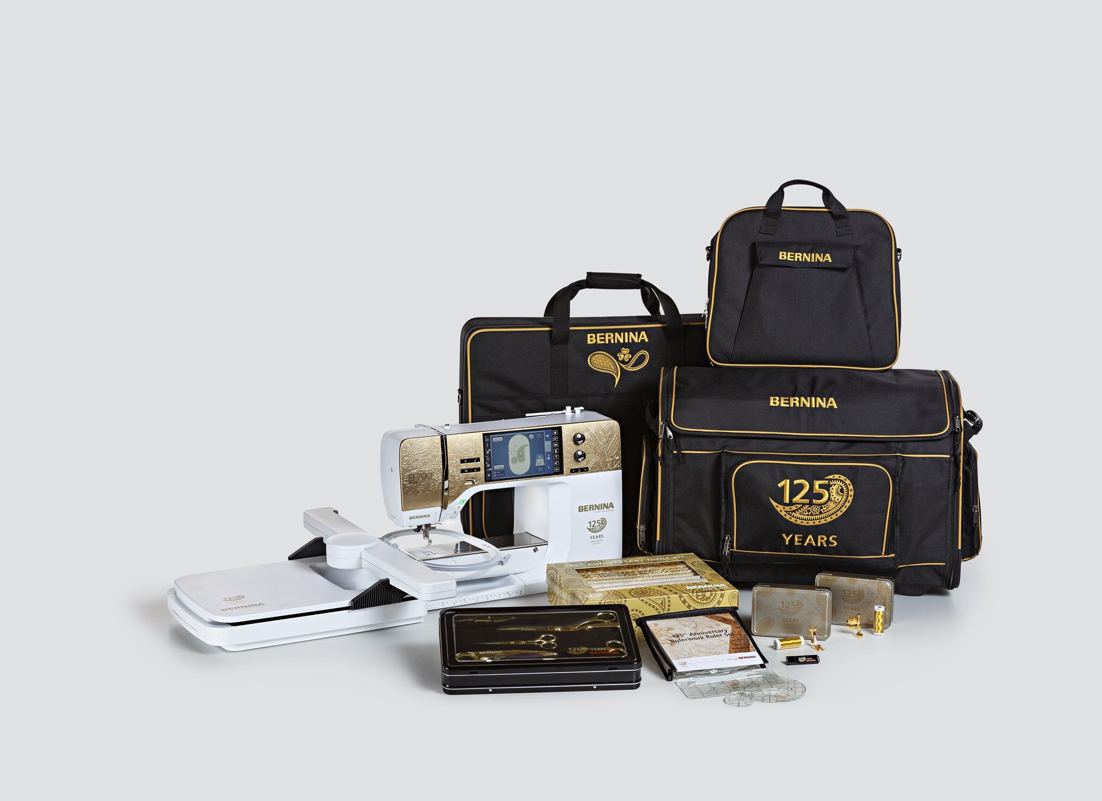 B 790 Plus Anniversary Edition - take home the gold! - BERNINA 33d335cfbf2a7
