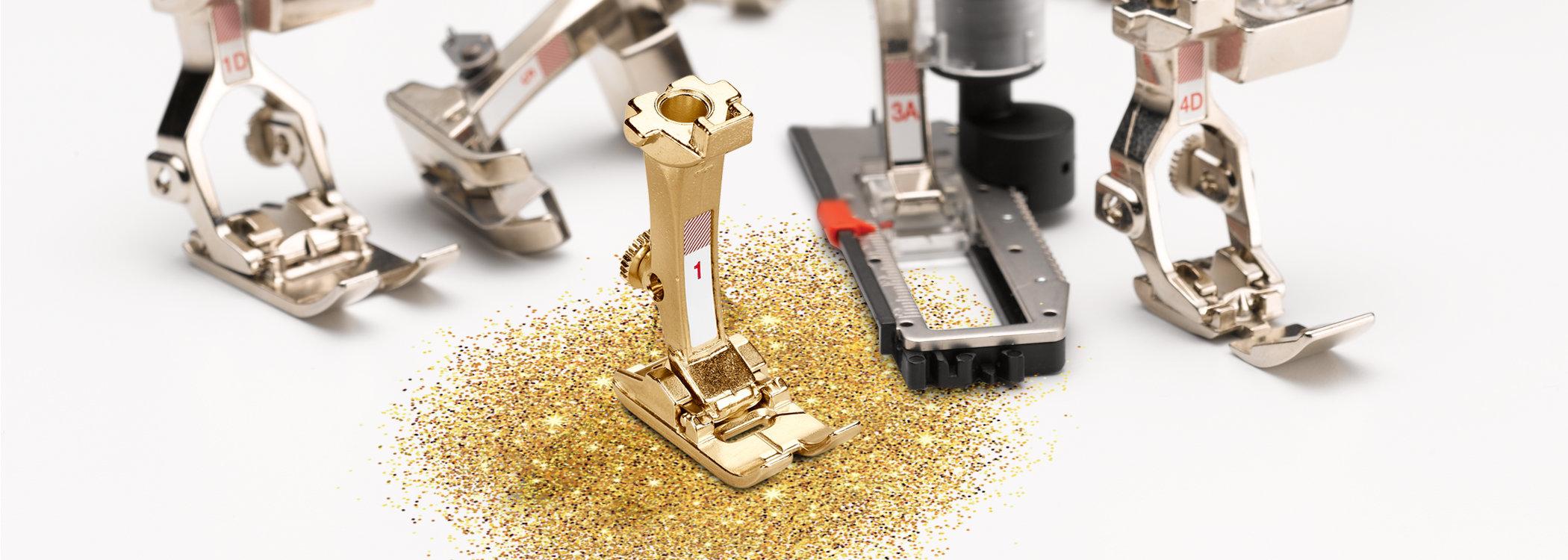 Presser feet for every occasion: original BERNINA accessories - BERNINA
