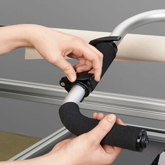 Unique programmable, fully adjustable handles