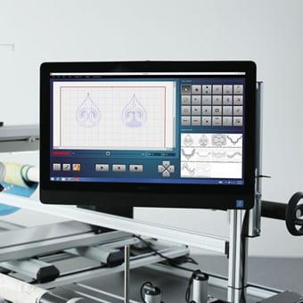 BERNINA Q-matic: Longarm Quilting Automation System - BERNINA : longarm quilting software - Adamdwight.com