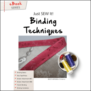 Just sew it ebook binding techniques experience bernina just sew it ebook binding techniques fandeluxe Gallery