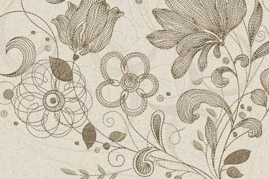 BERNINA DesignWorks Sepia Petals Companion