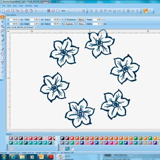 Editing motifs