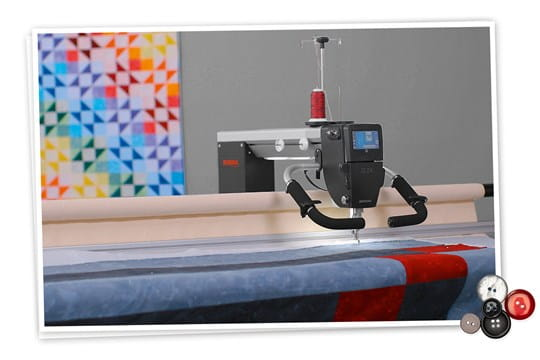 Picture: BERNINA Q 20 / Q 24 on Frame