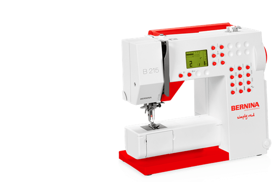 BERNINA 40 Easy Handling Down To The Fine Details BERNINA New Bernina 215 Sewing Machine Reviews