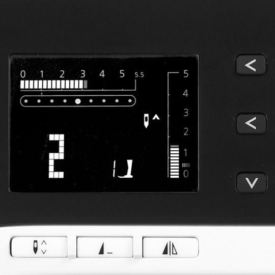 Un atout créatif en plus : la fonction miroir disponible en appuyant sur un bouton !