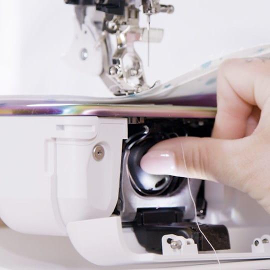 Quiet & precise sewing