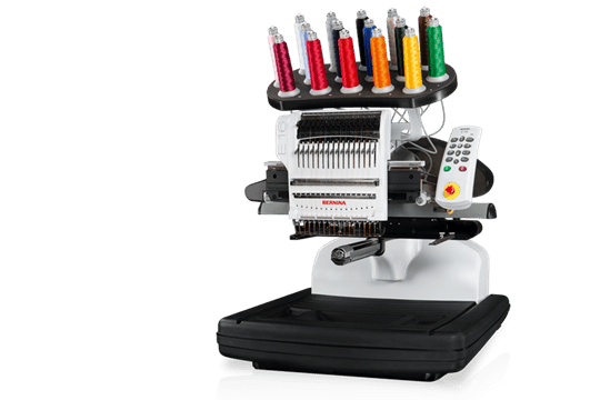 Bernina E 16 The First Bernina Multi Needle Embroidery Machine