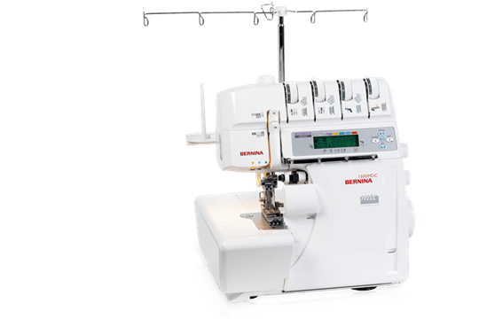 BERNINA 40 MDC The Flexible Model With An Extensive Stitch Enchanting Sewing Machine Serger Combo