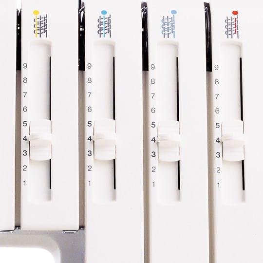 Adjustable thread tension – optimal control