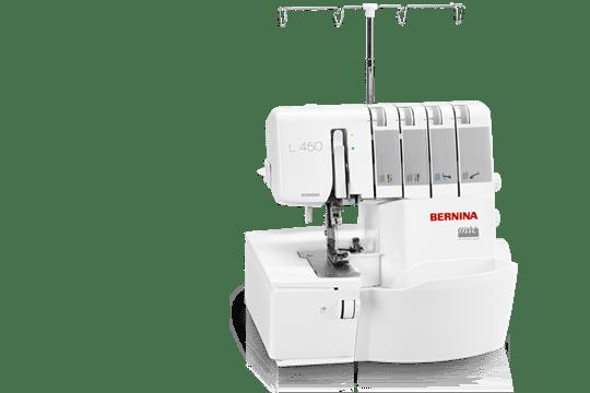 BERNINA L 40 Cut Sew And Finish In A Single Step BERNINA Custom Bernina Sewing Machine Problems Solutions