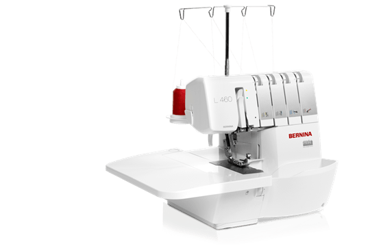 BERNINA L 460 – cut, sew and finish in a single step - BERNINA
