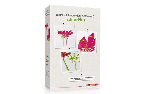 Bernina Embroidery Software 7 Editorplus Bernina