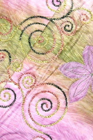 Bernina Embroidery Software 6 Free Motion Couching Swirl Design