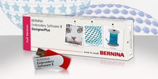 Bernina Embroidery Software V8 Designerplus Feedback Reporter Learn Create Bernina