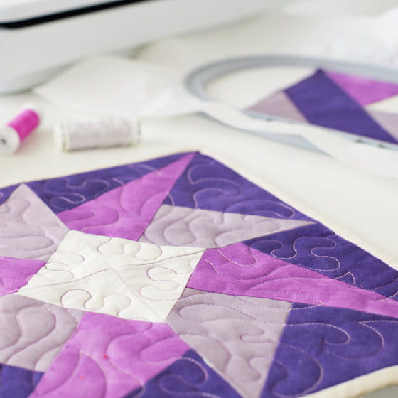 Quilting in the Hoop and new designs