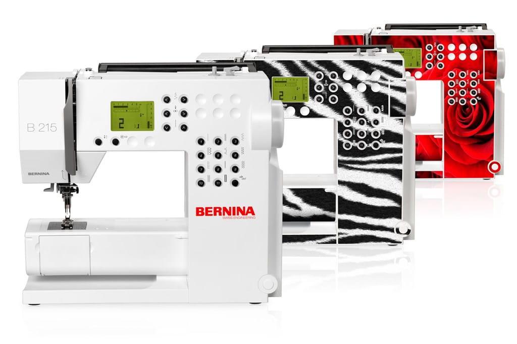 Skins individuales: su BERNINA 215 totalmente personalizada