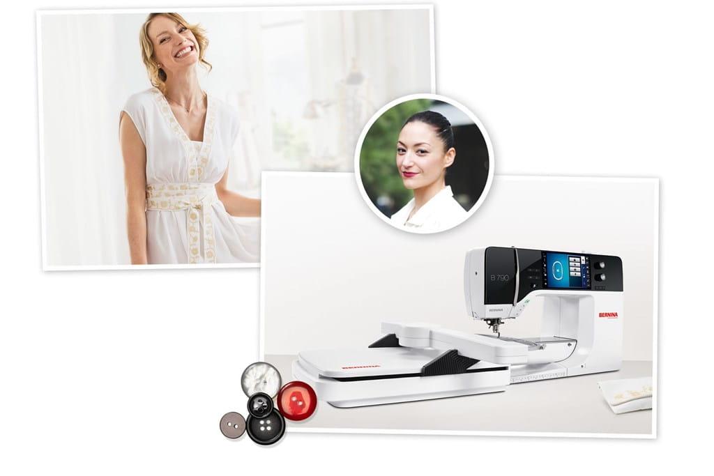 BERNINA 790 – die ideale Näh- und Stickmaschine für Fashion Designer