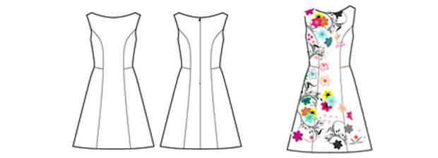 Schnittmuster kleid kostenlos ausdrucken