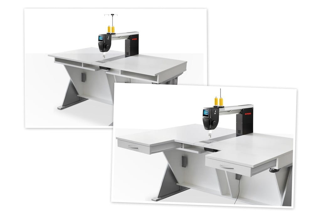 Table for BERNINA Q 20: Form and Function