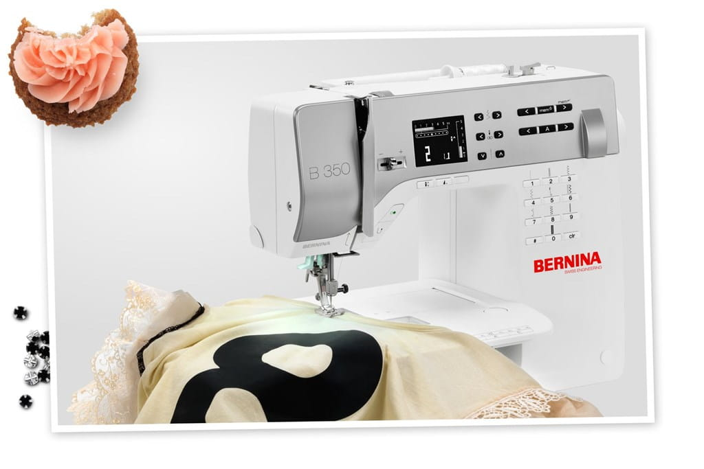 BERNINA 350 PE: The quilting model