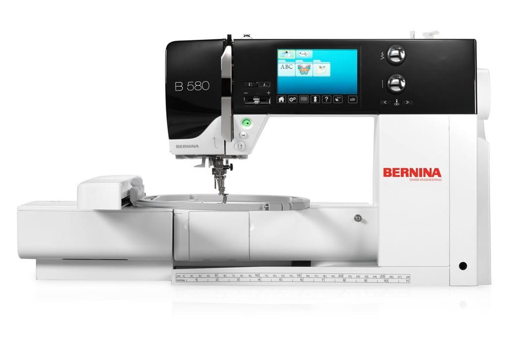 BERNINA 580 – jetzt mit erweitertem Zubehör - BERNINA