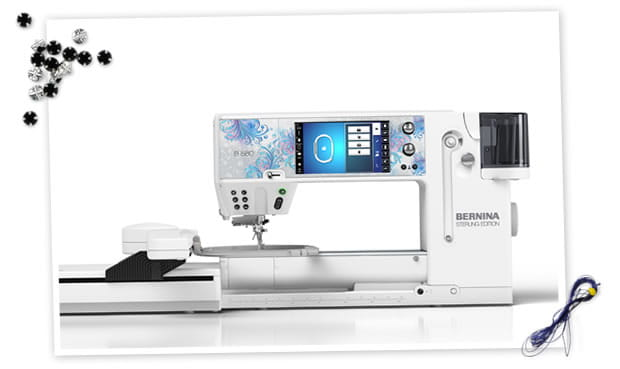 BERNINA 880 Sterling Edition