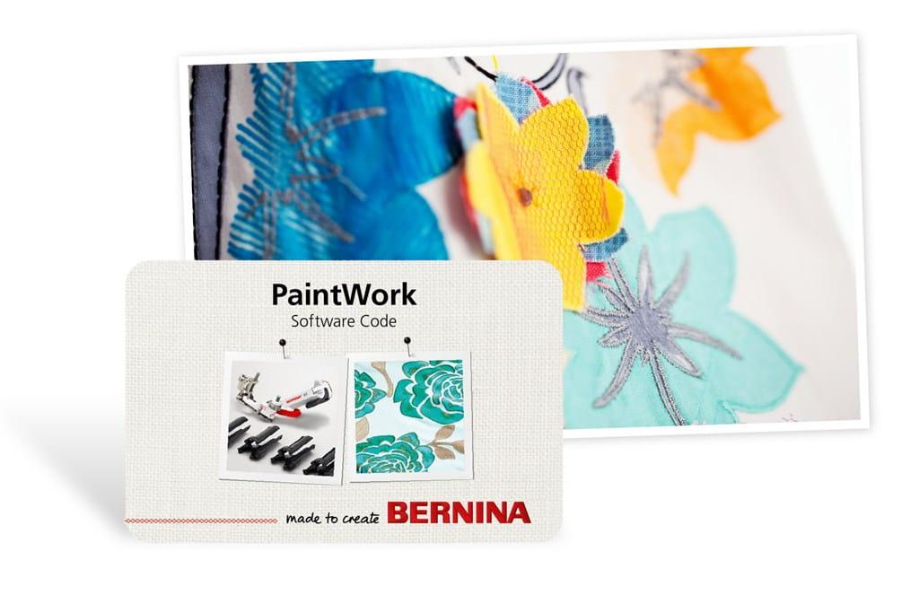 Mit der Paintwork Software individuelle Muster, Motive und Bilder ...