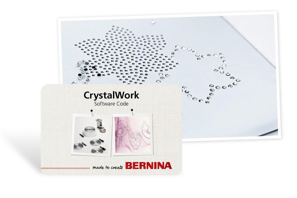 Mit der CrystalWork Software und Tools Motivschablonen für ...