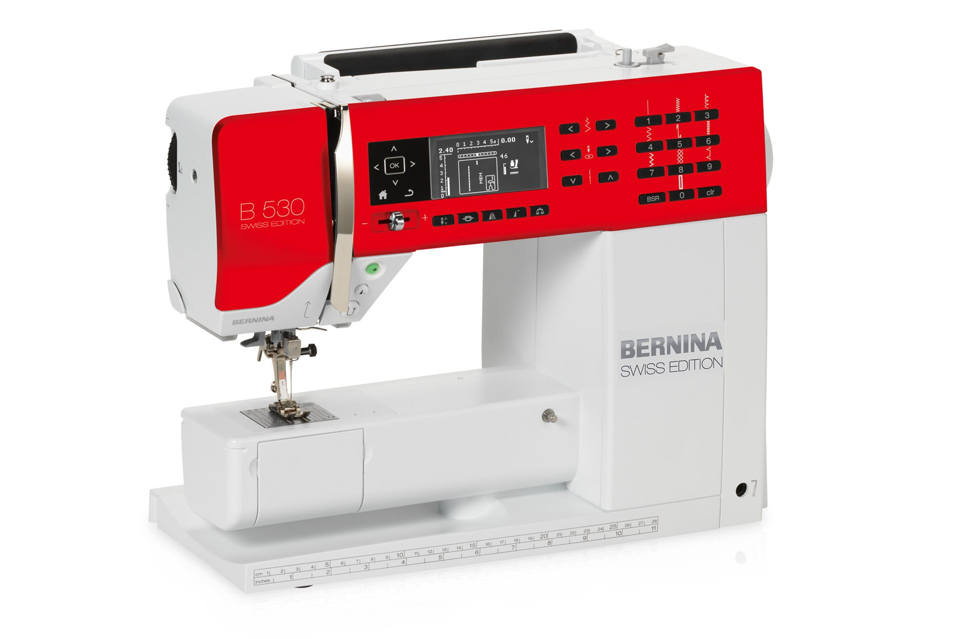 BERNINA 530 Swiss Edition