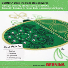 Deck the Halls DesignWorks– BERNINA DesignWorks Collection #21018