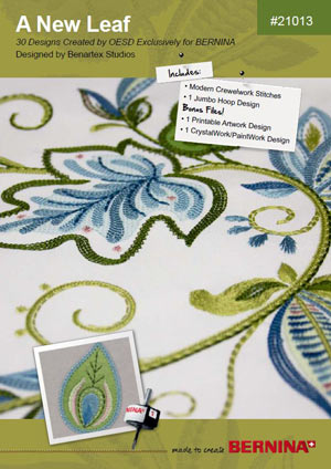 A New Leaf – Motifs de broderie BERNINA # 21013