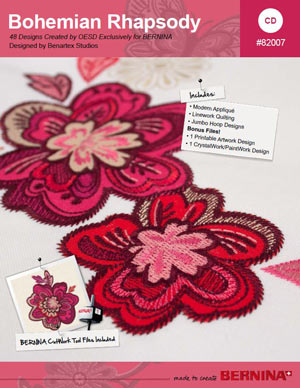 Bohemian Rhapsody – Collection de broderie BERNINA # 82007