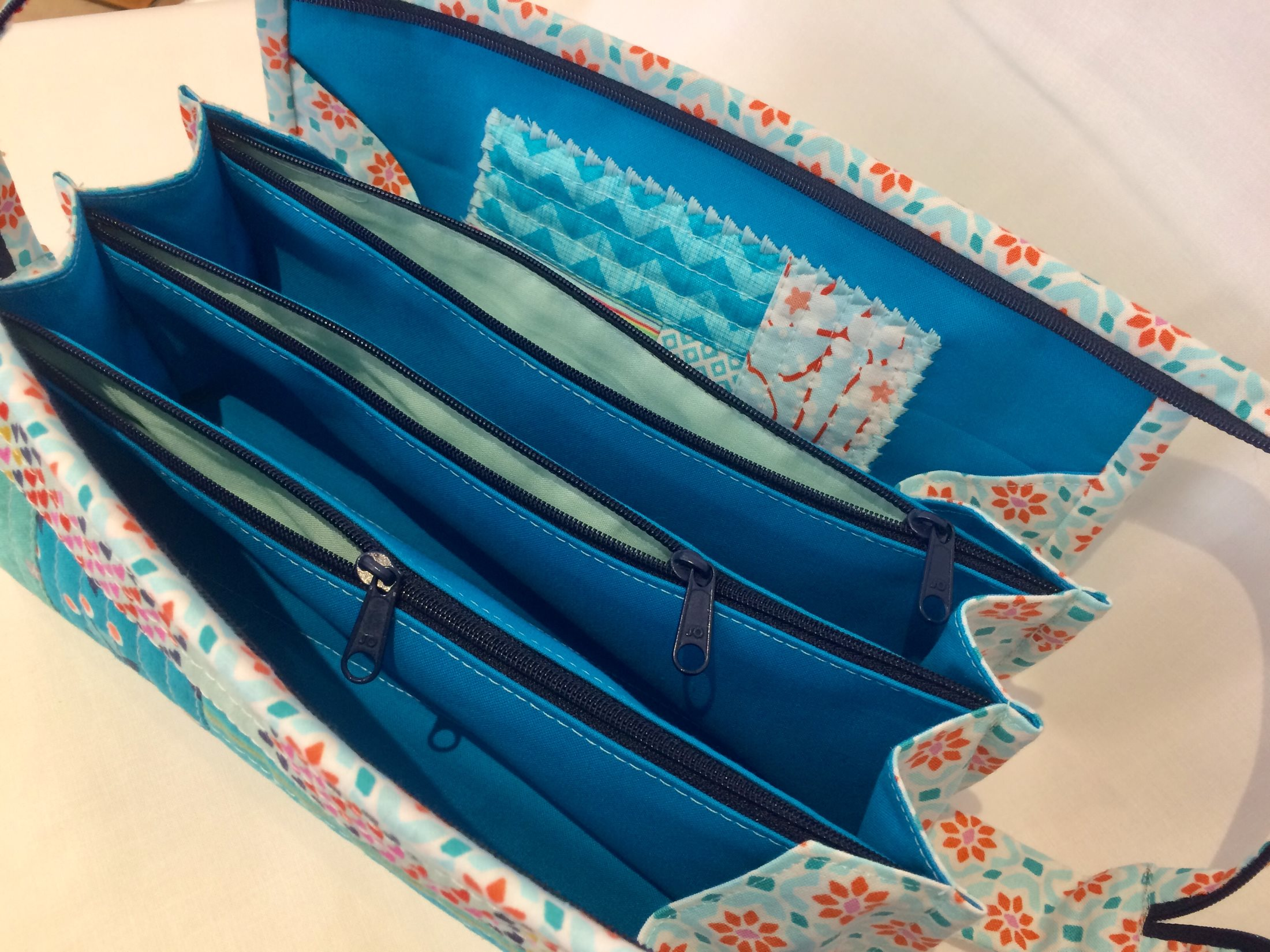 Bild: Patchworkkurs – Sew Together Bag  1/3