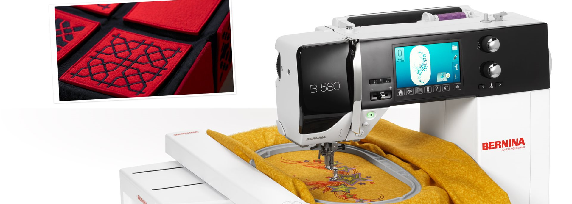 Bild: BERNINA Borduurmotief Design Studio
