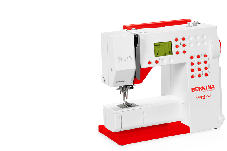 Bild: BERNINA 215 Simply Red