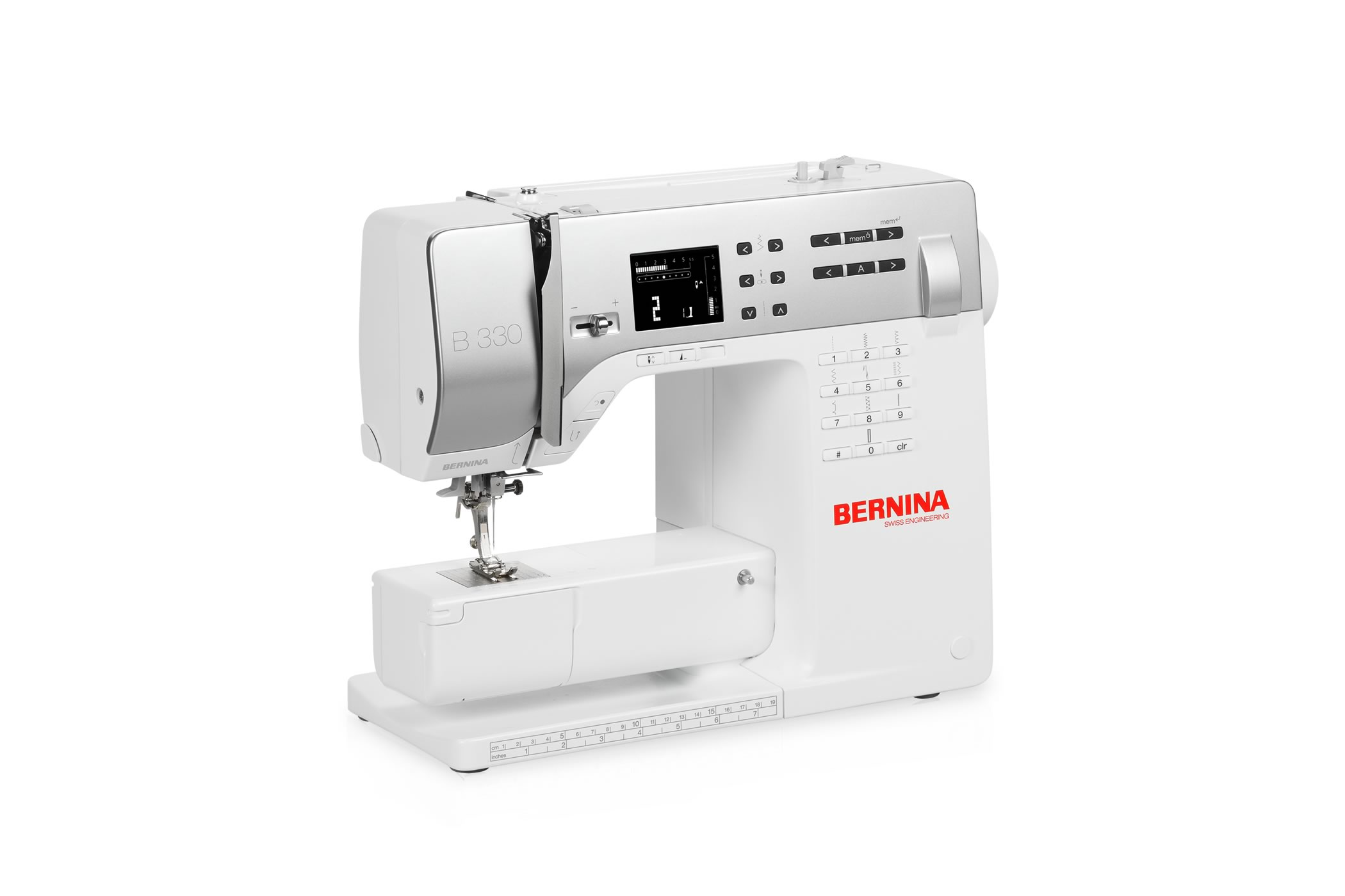 Bernina 3 series easy handling precise results bernina bernina 330 fandeluxe Image collections