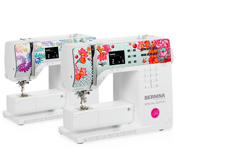 Bild: BERNINA 350 SE Tula Pink and Ricky Tims