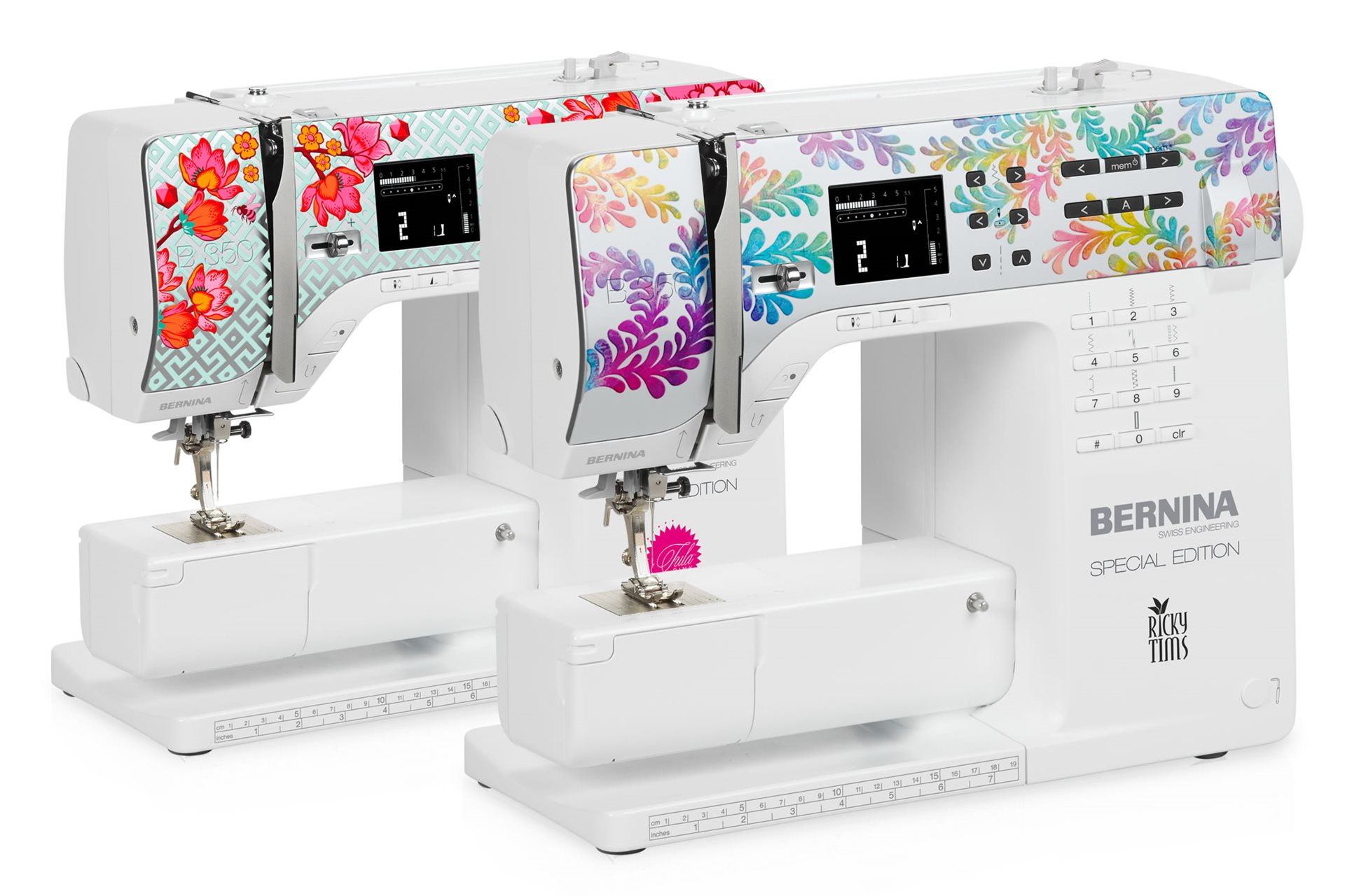BERNINA 350 SE Tula Pink and Ricky Tims