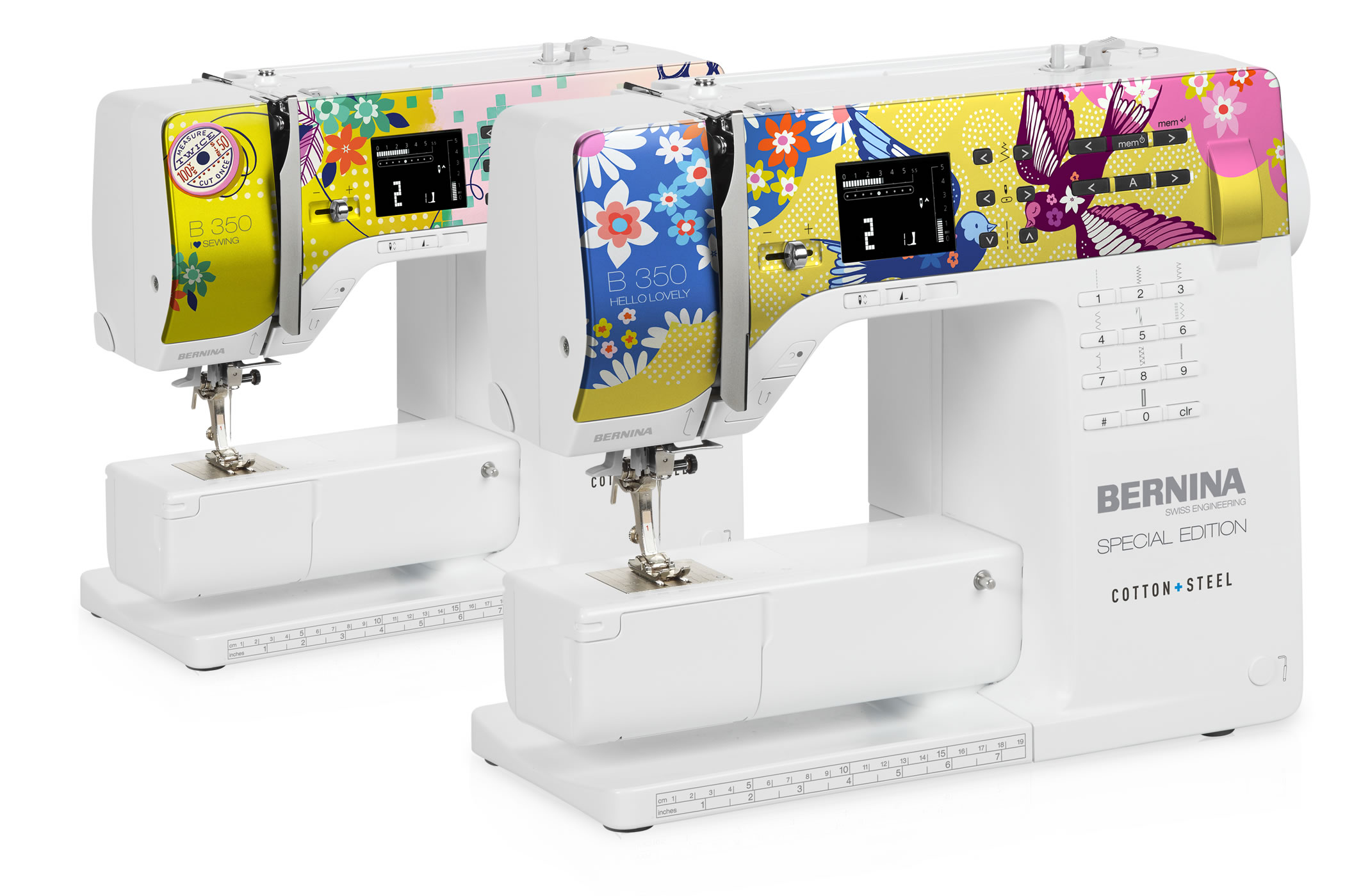 BERNINA 350 SE COTTON+STEEL