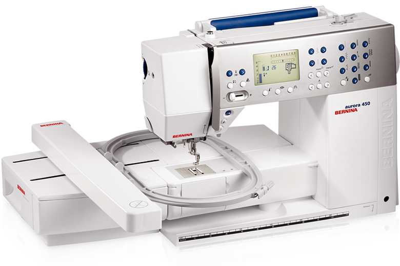 Picture: BERNINA aurora 450
