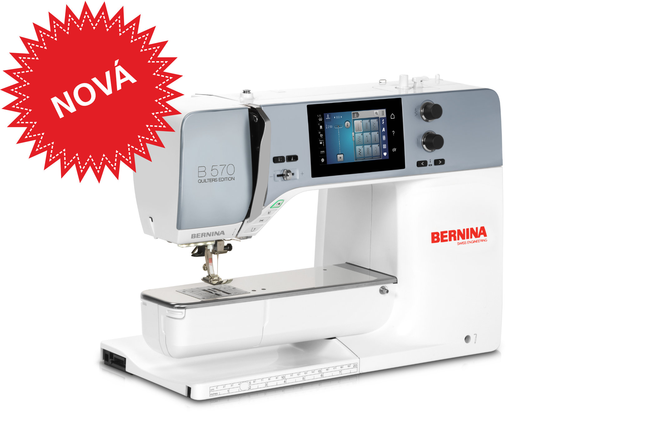 Bernina 5 series for sewists quilters embroiderers bernina bernina 570 qe fandeluxe Gallery