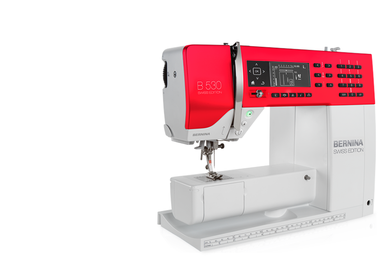 Bild: BERNINA 530 SE Swiss Edition
