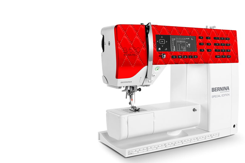 Bild: BERNINA 530 SE Swiss Red