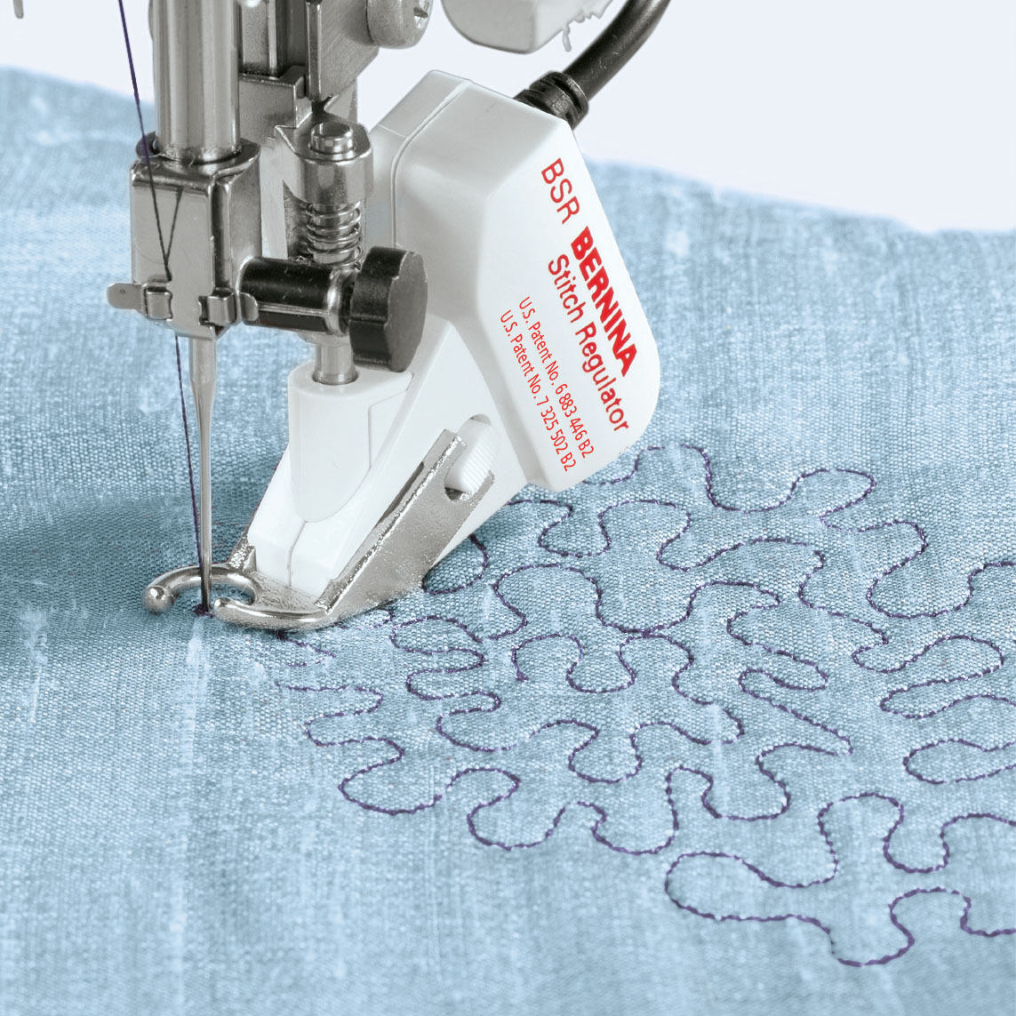 BERNINA stitch regulator function optional